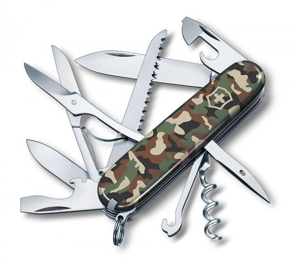 Victorinox Huntsman Camouflage Schweizer Taschenmesser Offiziersmesser - 15 F...