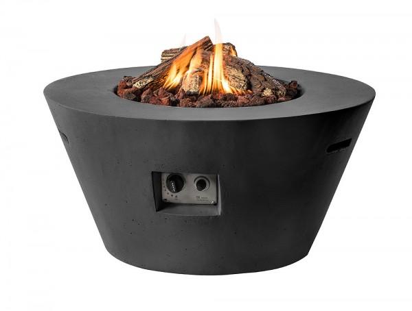 Happy Cocooning Feuertisch Cone schwarz 960 x 460 mm