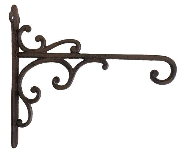 wandhaken f r blumenampel blumentopf gusseisen antik braun wandhalterung kaufen. Black Bedroom Furniture Sets. Home Design Ideas