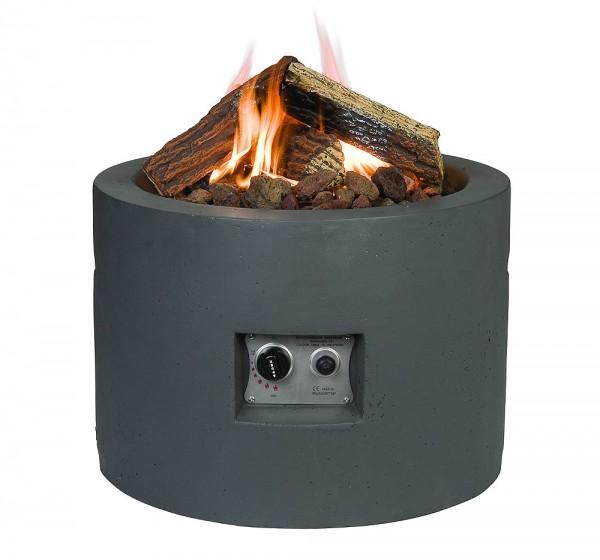 Happy Cocooning Feuertisch rund grau Ø 610 mm
