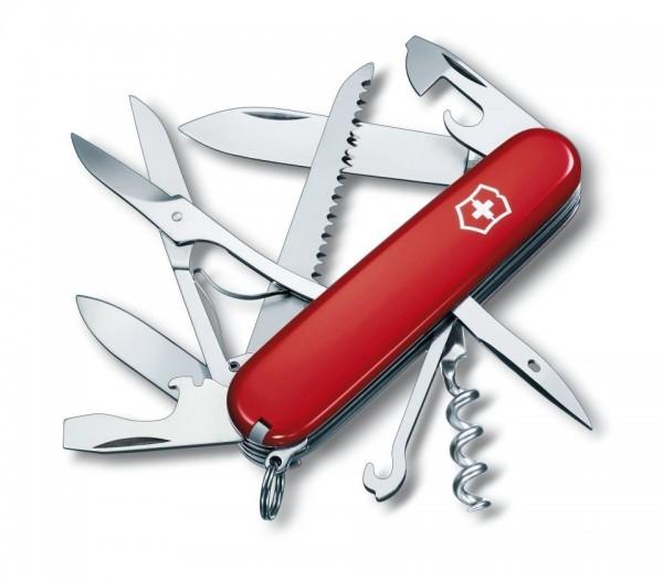 Victorinox Huntsman Rot Offiziersmesser Schweizer Taschenmesser - 15 Funktionen
