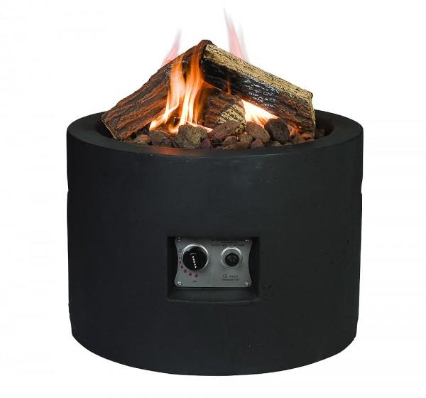 Happy Cocooning Feuertisch rund schwarz Ø 610 mm