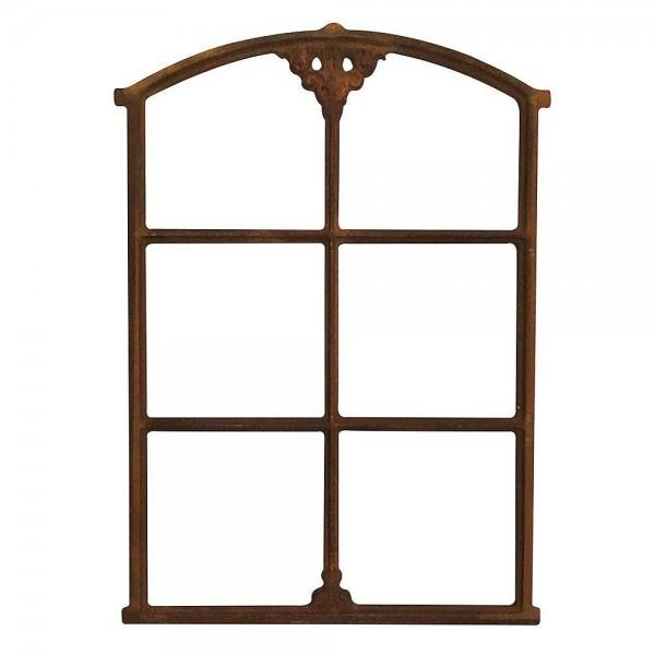 Stallfenster Eisenfenster Rostig Nostalgie Fenster Rahmen Antik-Stil H 75cm