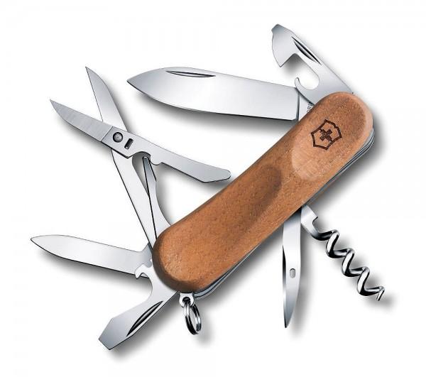 Victorinox EvoWood 14 Holz Schweizer Taschenmesser - 12 Funktionen