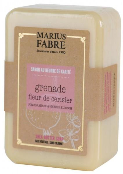 Marius Fabre Seife Kirschblüte & Granatapfel (Fleur de Cerisier) Shea-Butter ...