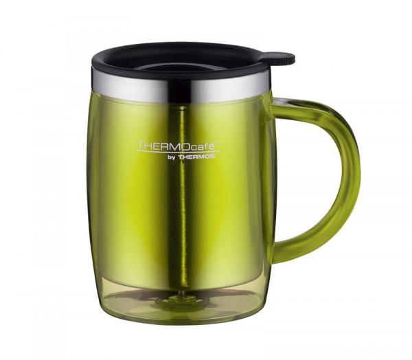 THERMOcafè by Thermos Trinkbecher Desktop Mug Lime Green 0,35l