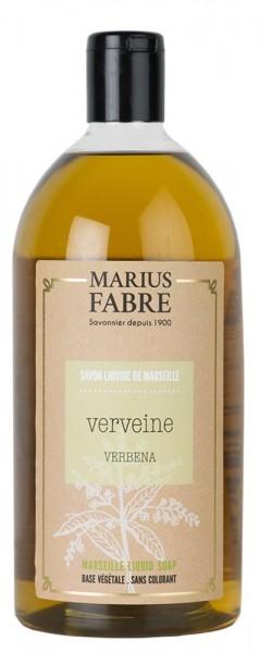 Marius Fabre Flüssigseife Eisenkraut (Verveine) mit Bio-Olivenöl - 1L
