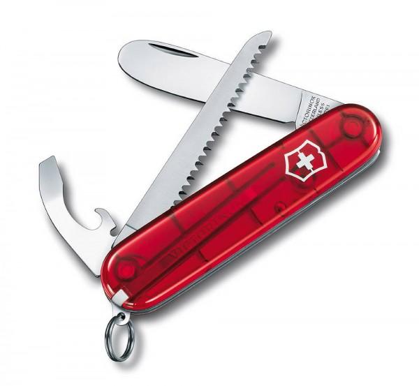 Victorinox My First Victorinox Rot Transparent Schweizer Taschenmesser für Ki...