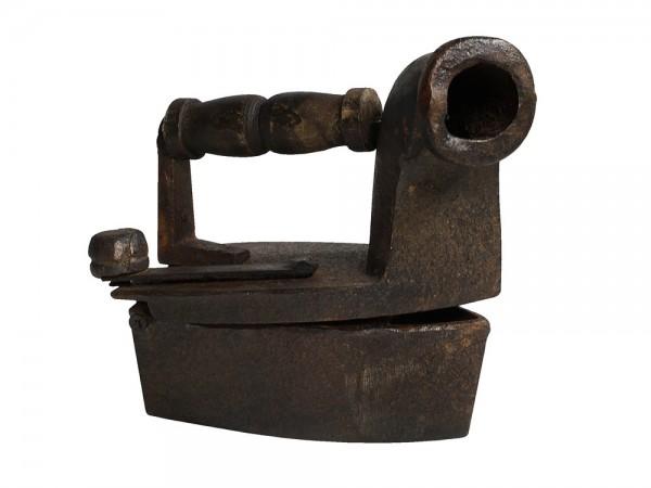 Nostalgie Bügeleisen Kohlebügeleisen Gusseisen Antik-Stil | Flur & Diele > Haushaltsgeräte > Bügeleisen | Eisen | zeitzone