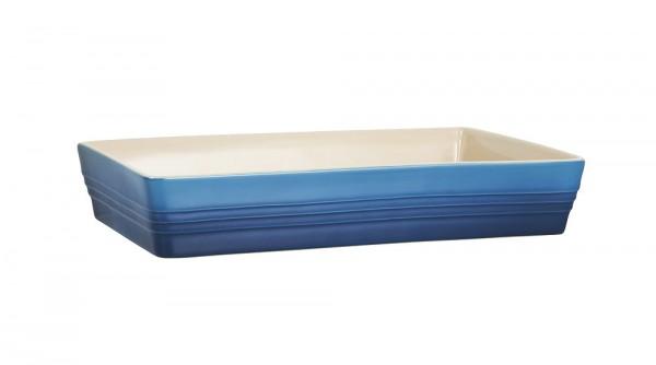 Le Creuset Auflaufform Klassik Steinzeug Marseille Blau 32x19cm