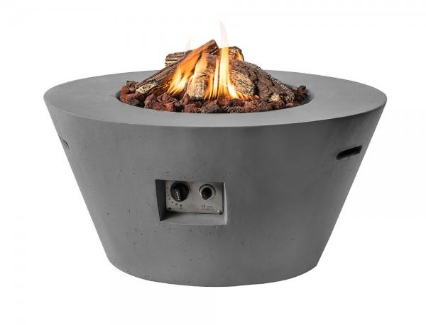 Happy Cocooning Feuertisch Cone grau 960 x 460 mm