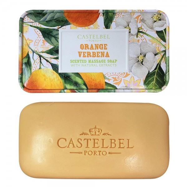 Castelbel Seife Smoothie Orange Verbena (Orange & Eisenkraut) Olivenöl-Seife ...
