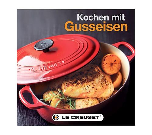 Image of Le Creuset Kochbuch Kochen mit Gusseisen