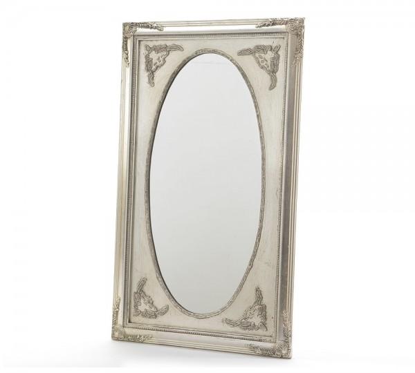 wandspiegel barock spiegel holzrahmen satingold 70x40cm. Black Bedroom Furniture Sets. Home Design Ideas
