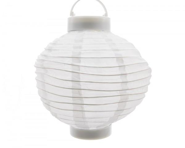 led solar laterne garten party lampion wei licht warmwei 20 cm kaufen. Black Bedroom Furniture Sets. Home Design Ideas