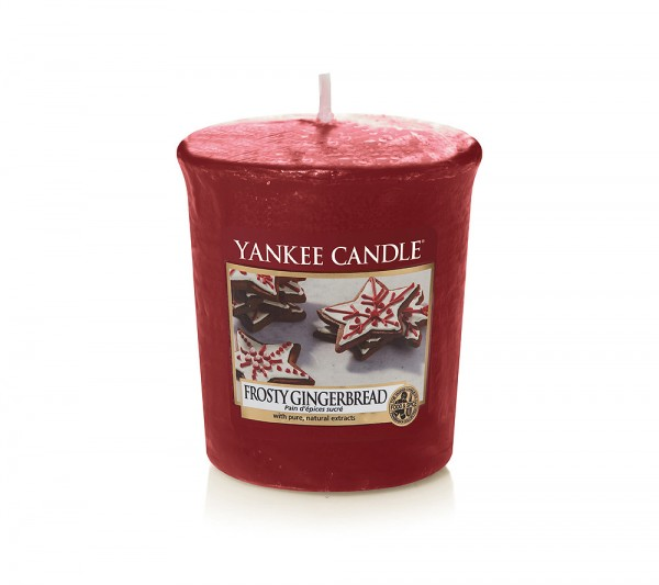 Yankee Candle Votivkerze Frosty Gingerbread 49 g