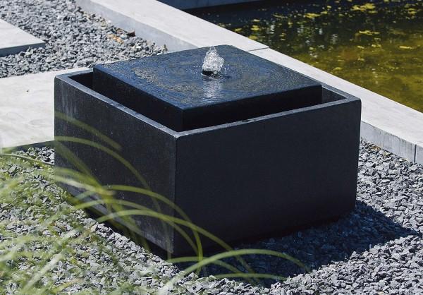 """Gartenbrunnen """"Sonora"""" aus Terrazzo und Polystone"""