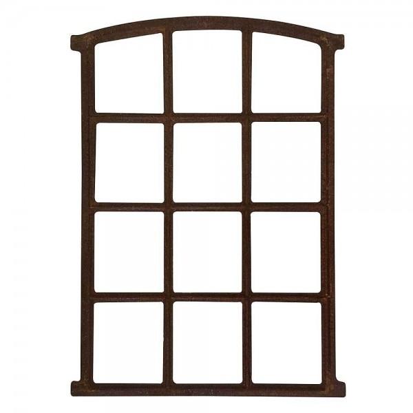 Stallfenster Eisenfenster Rostig Nostalgie Scheunenfenster Rahmen Antik-Stil ...