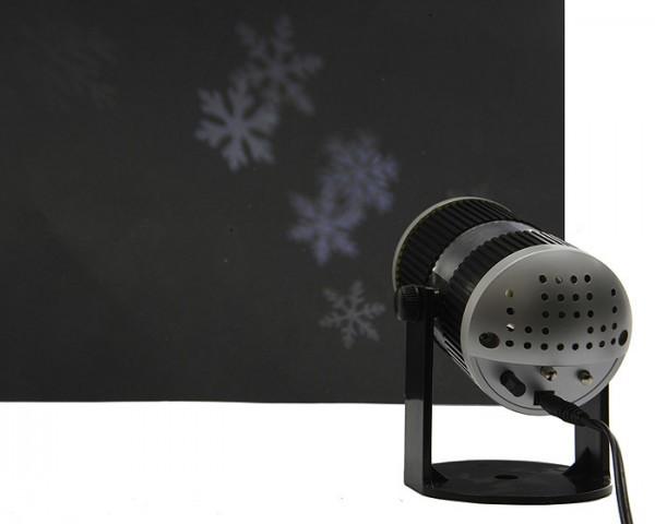 led projektor schneeflocken weihnachten mit ger uschsensor. Black Bedroom Furniture Sets. Home Design Ideas