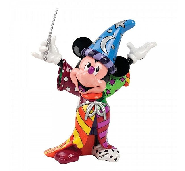 DISNEY Figur Sorcerer Mickey Mouse Zauberer BRITTO Collection 23cm