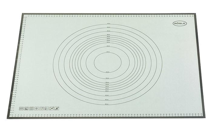 Rösle Back- und Arbeitsmatte aus Silikon 68x53cm