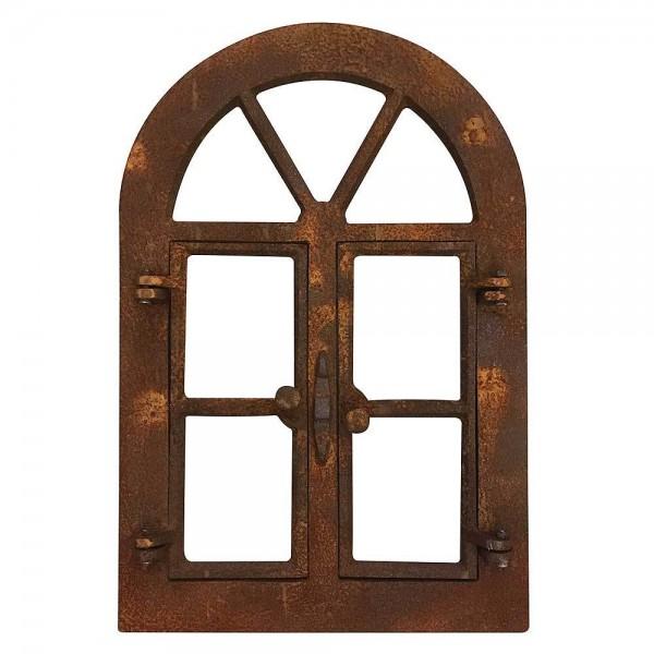 Stallfenster zum Öffnen Eisenfenster Rostig Nostalgie Fenster Rahmen Antik-Stil