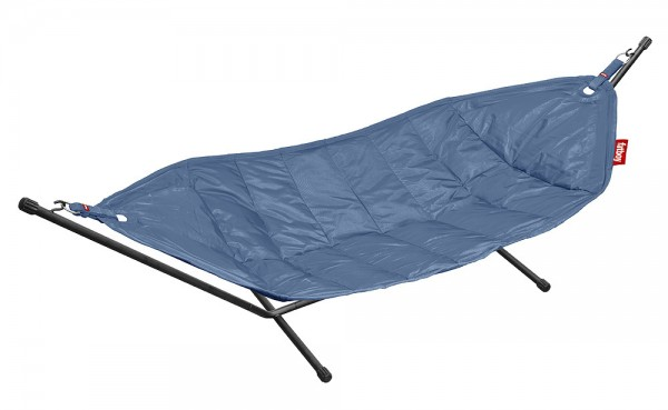 Fatboy Headdemock Jeans Light Blue Hängematte Blau inkl. Gestell 330 x 127 cm   Garten > Hängematten   Fatboy