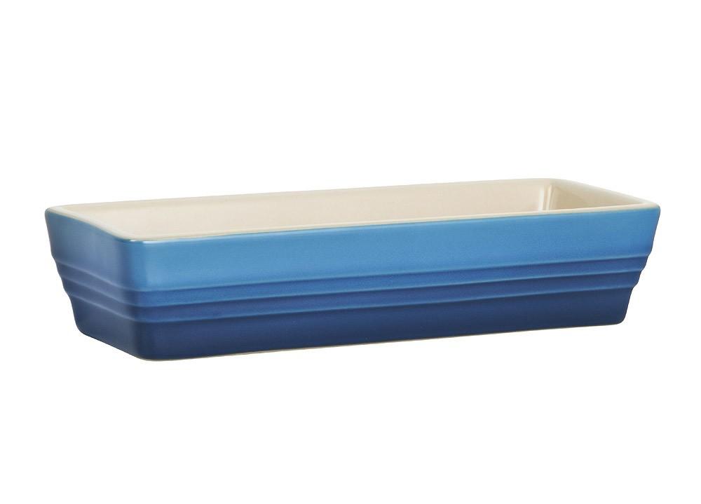 Le Creuset Auflaufform Klassik Steinzeug Marseille Blau 19x7,5cm