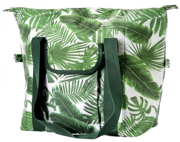 Kühltasche Karibik Groß Strandtasche Isoliertasche Picknicktasche Reißverschluss