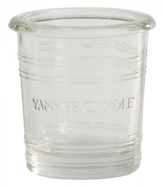 Yankee Candle Essential Bucket Voltivkerzenhalter Glas Klar