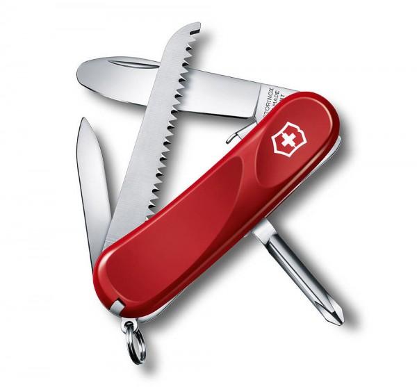 Victorinox Junior 09 Rot Schweizer Taschenmesser für Kinder - 8 Funktionen