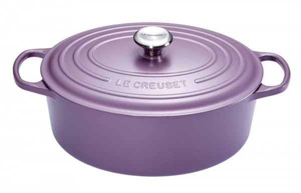 le creuset br ter signature oval guss ametist 31cm kaufen. Black Bedroom Furniture Sets. Home Design Ideas