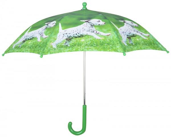 Kinder Regenschirm Welpe Dalmatiner Tiermotiv Hundebaby Kinderschirm