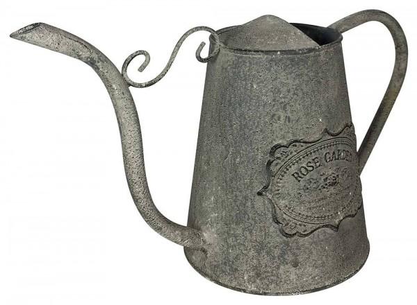*NEU*: Deko-Krug in Karaffenform aus Zink, weiß/braun (Kopie)