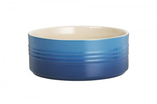Le Creuset Servierschüssel Steinzeug Marseille Blau 19cm