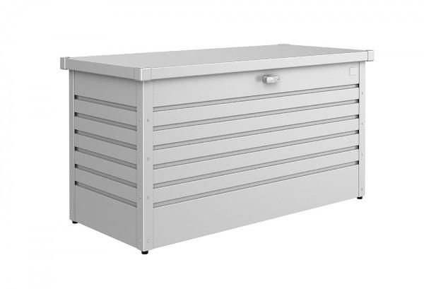 biohort freizeitbox 130 aufbewahrungsbox 134x62x71cm silber metallic kaufen. Black Bedroom Furniture Sets. Home Design Ideas