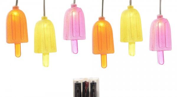 bunte lichterkette led eisf rmchen partylichterkette eis. Black Bedroom Furniture Sets. Home Design Ideas