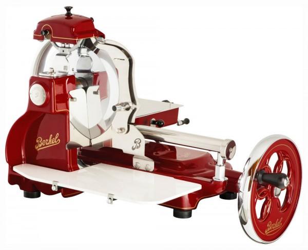 Berkel Volano B3 Rot Aufschnittmaschine mit Schwungrad Red