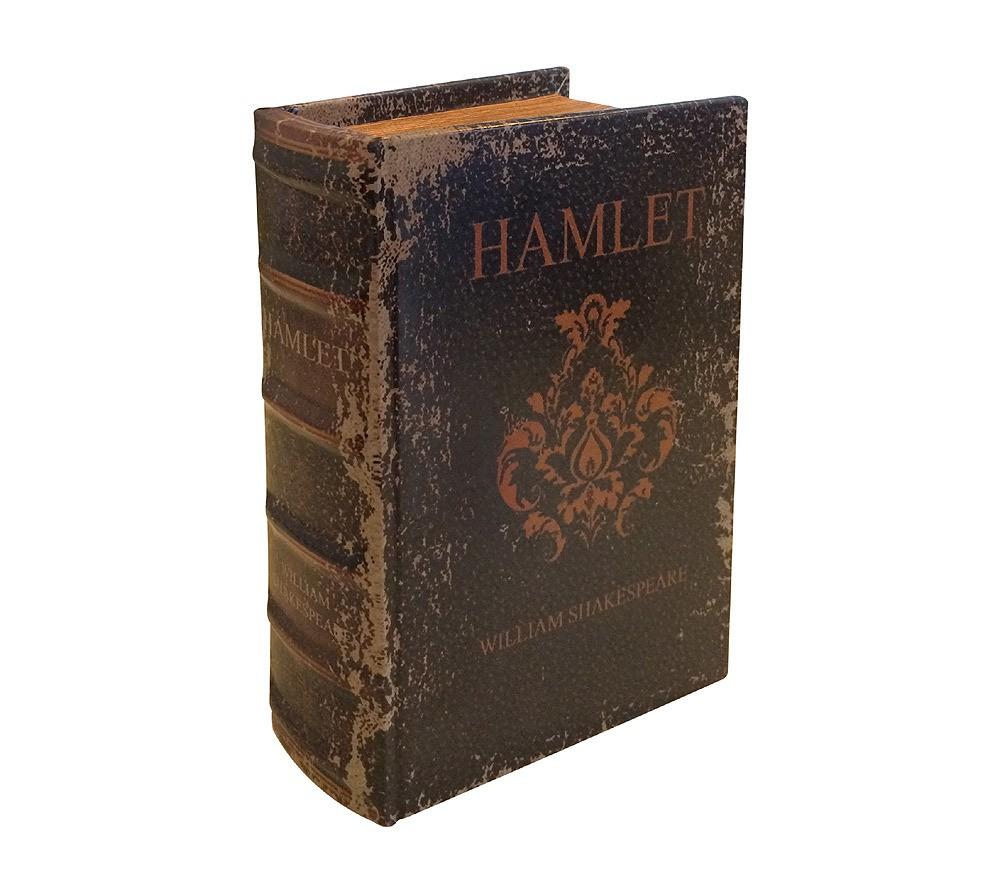 Hohles Buch Geheimfach SHAKESPEARES HAMLET Buchversteck Antik-Stil ...