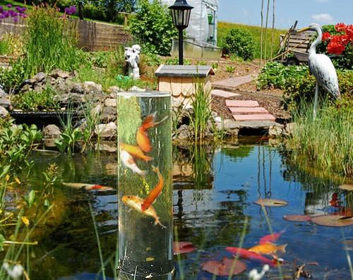 Aquafix Fischsäule 50 Fischturm Acryl Höhe 50cm ohne Sockel