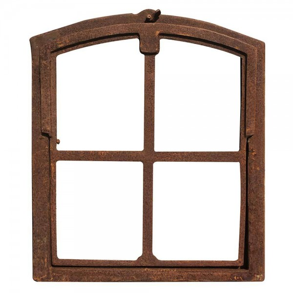 Stallfenster zum Kippen Eisenfenster Rostig Kippfenster Rahmen Antik-Stil