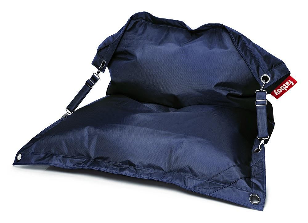 Fatboy Buggle-Up Dark Blue Sitzsack Lounge-Sitz Dunkelblau 190 x 140 cm