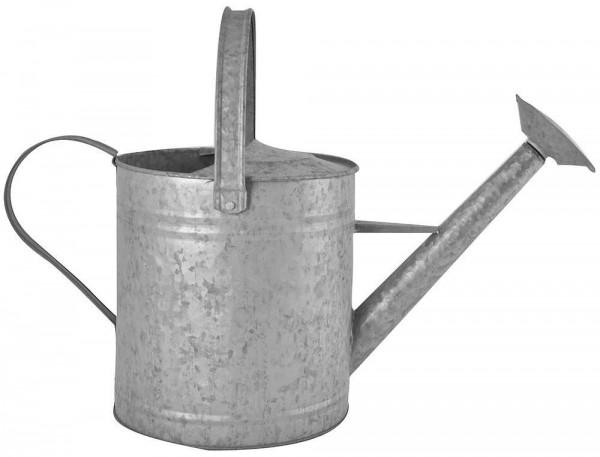 *NEU*: Gießkanne aus Zink, mit Griff und Bügel, grau