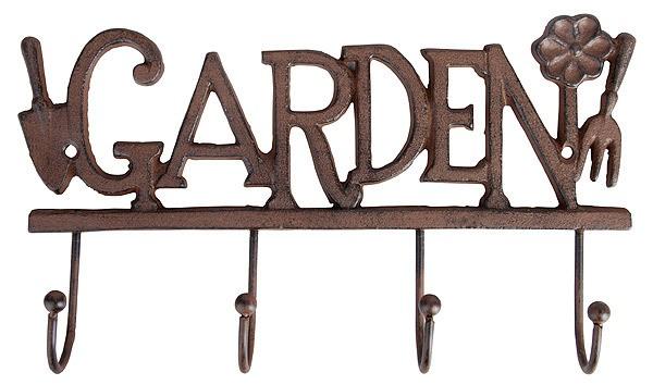 rustikale garderobe wandhaken garden gusseisen antik. Black Bedroom Furniture Sets. Home Design Ideas