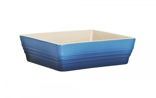 Le Creuset Auflaufform Klassik Steinzeug Marseille Blau 19x16cm