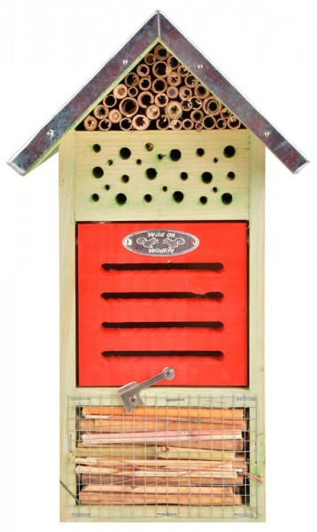 *NEU*: Insektenhotel aus  Holz, gefüllt, naturbelassen (Kopie) Tectake
