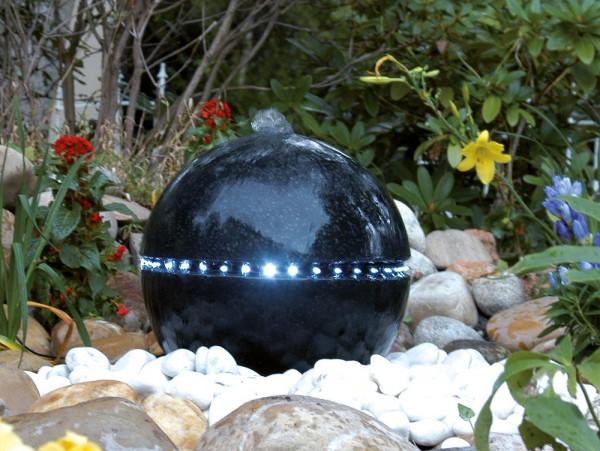 Ubbink AcquaArte Dubai Gartenbrunnen Set LED Springbrunnen